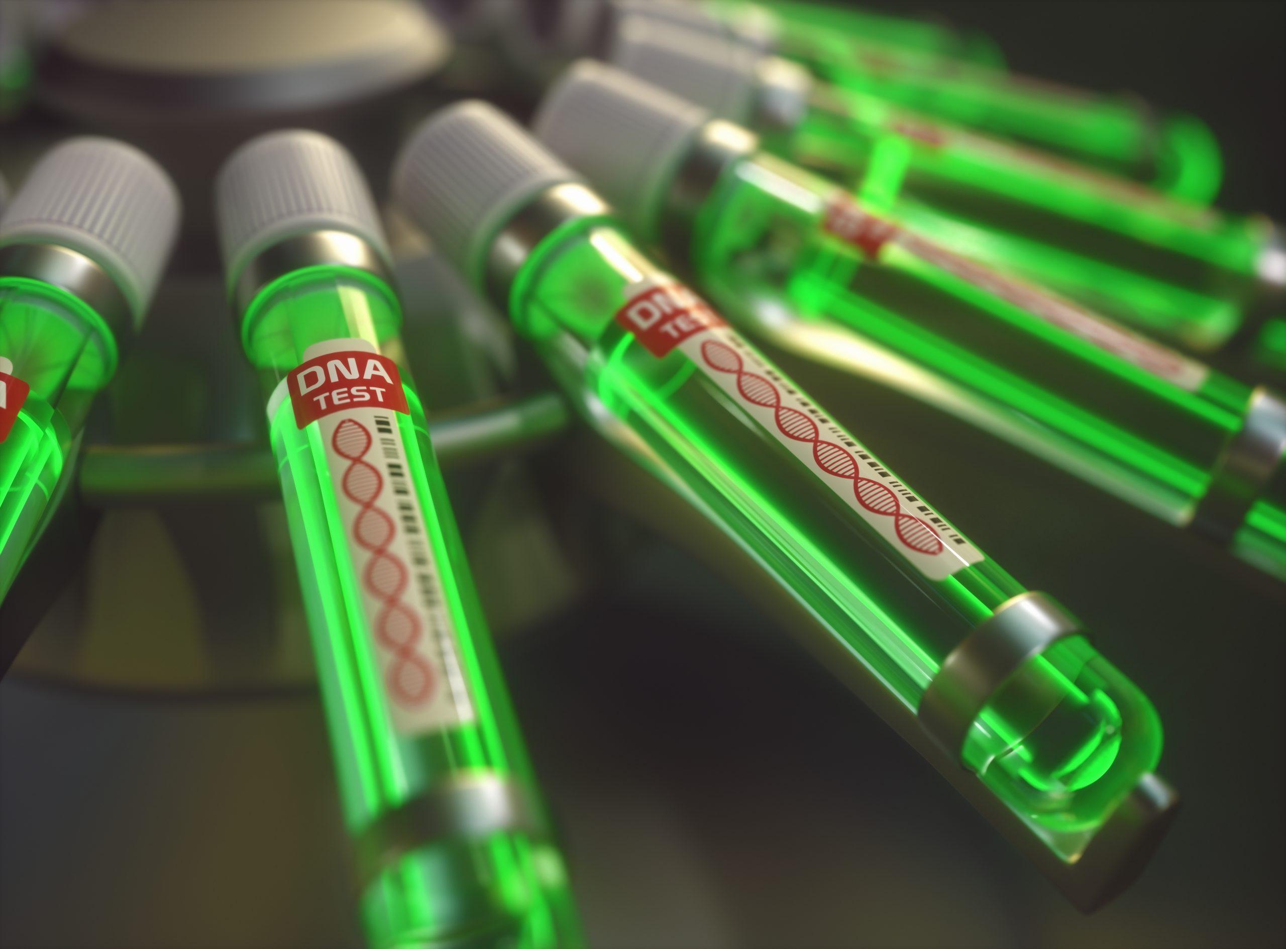 prueba-genetica-de-adn-prueba-genetica-metodos-y-beneficios-3d-ilustracion-prueba-genetica-en-tubo-de-ensayo
