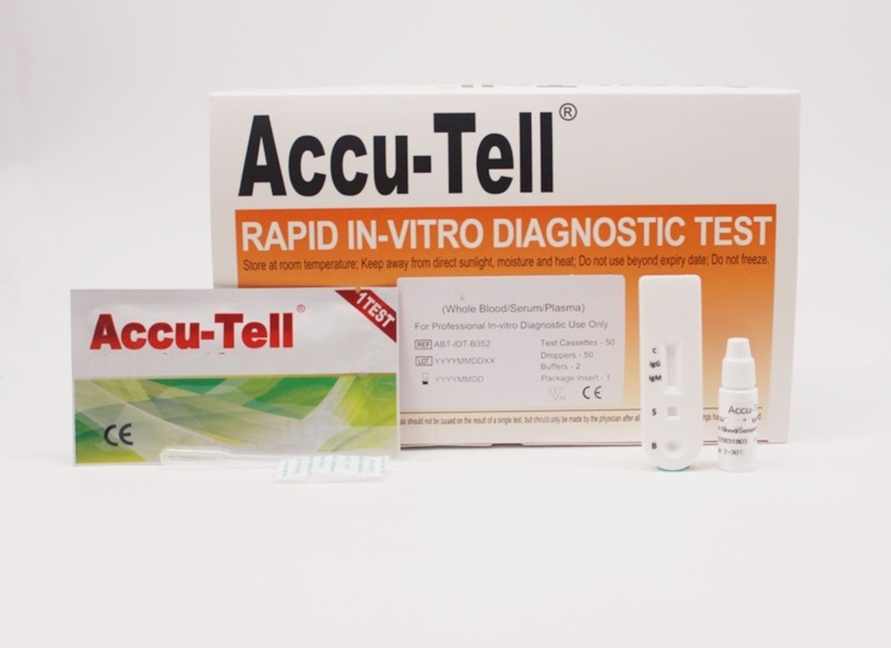 Accu Tell COVID-19 IgG/IgM Rapid Test